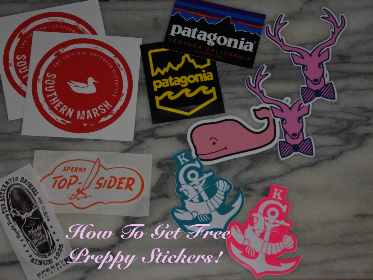 How To Get Free Preppy Stickers!