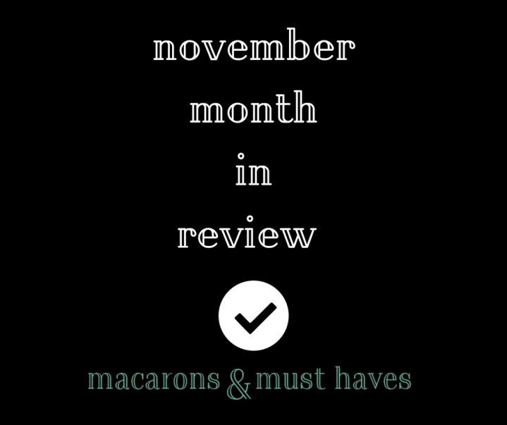 November Month inReview