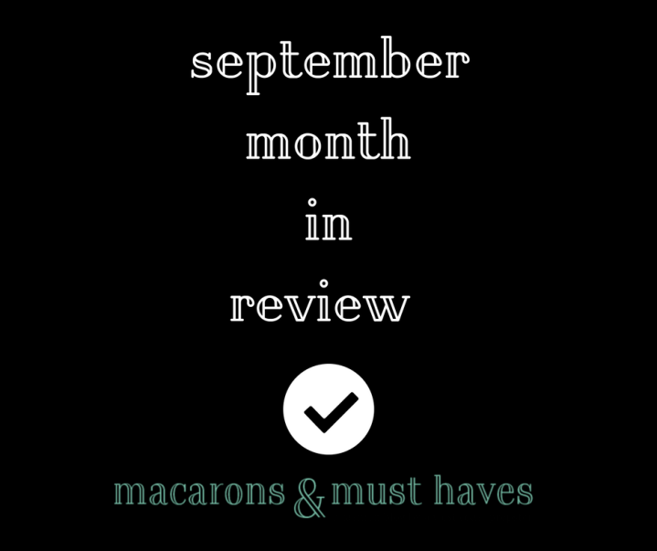 September Month inReview