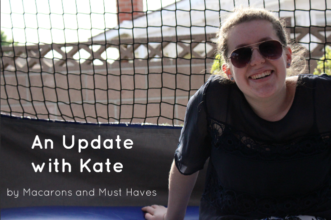 An Update with Kate – The Things that Scare Me