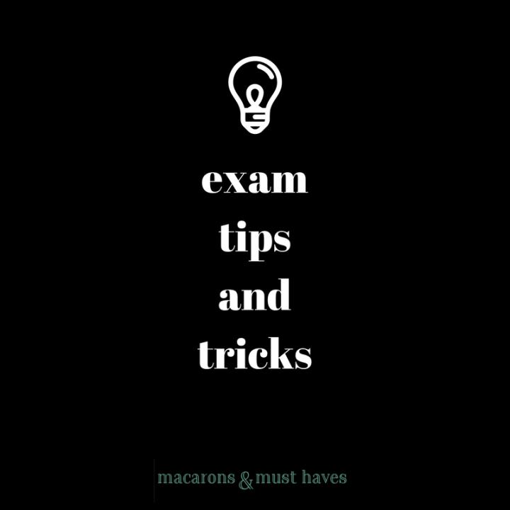 My Exam Tips &Tricks