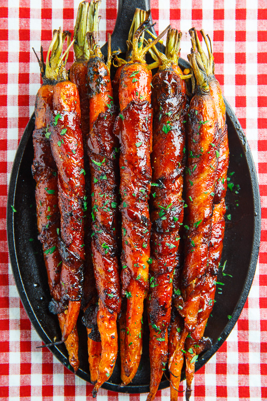Maple Bacon Wrapped Roasted Carrots 800 3405