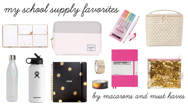 Back to School – My SupplyFavorites