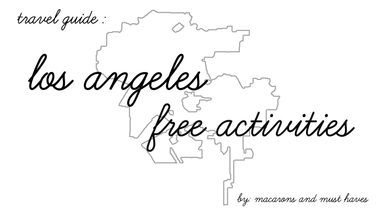 my favorite free LA activities