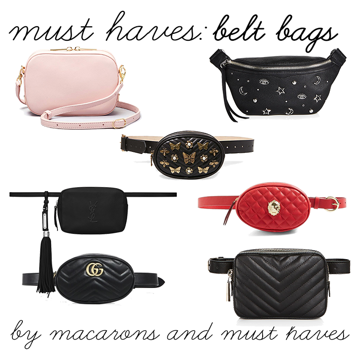 Must Haves: BeltBags