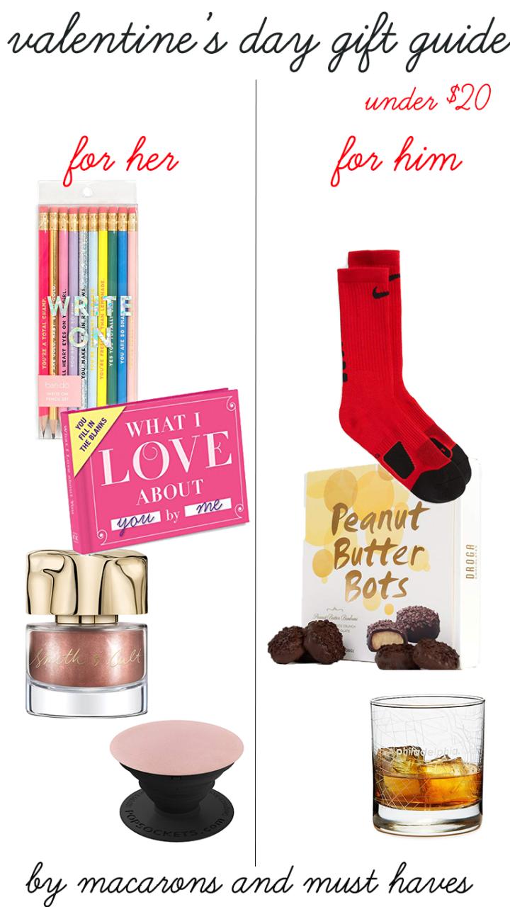 Valentine's Gifts Under$20