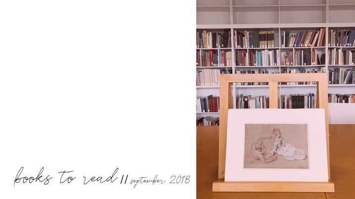 Books to Read – SeptemberUpdate