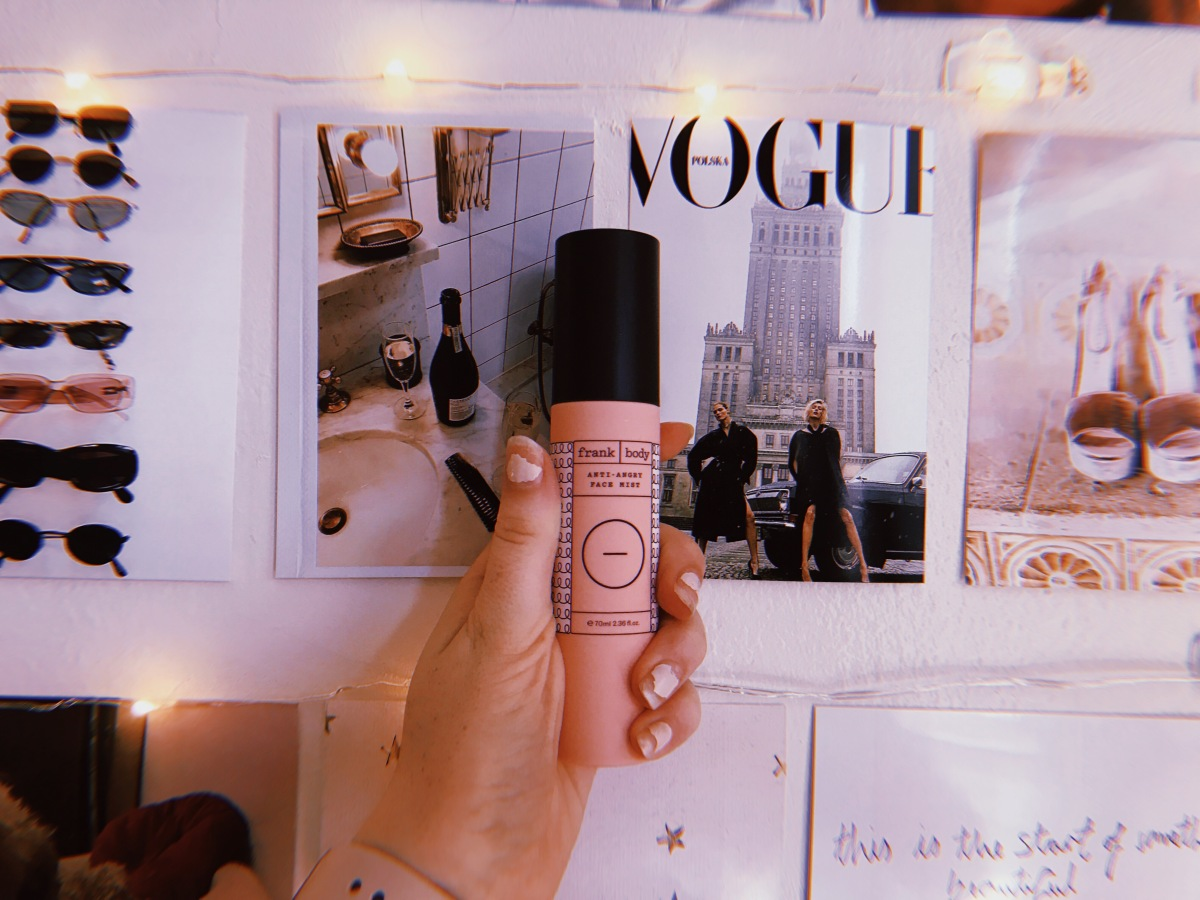 Must Haves: Frank Body 'Anti Angry Face Mist'