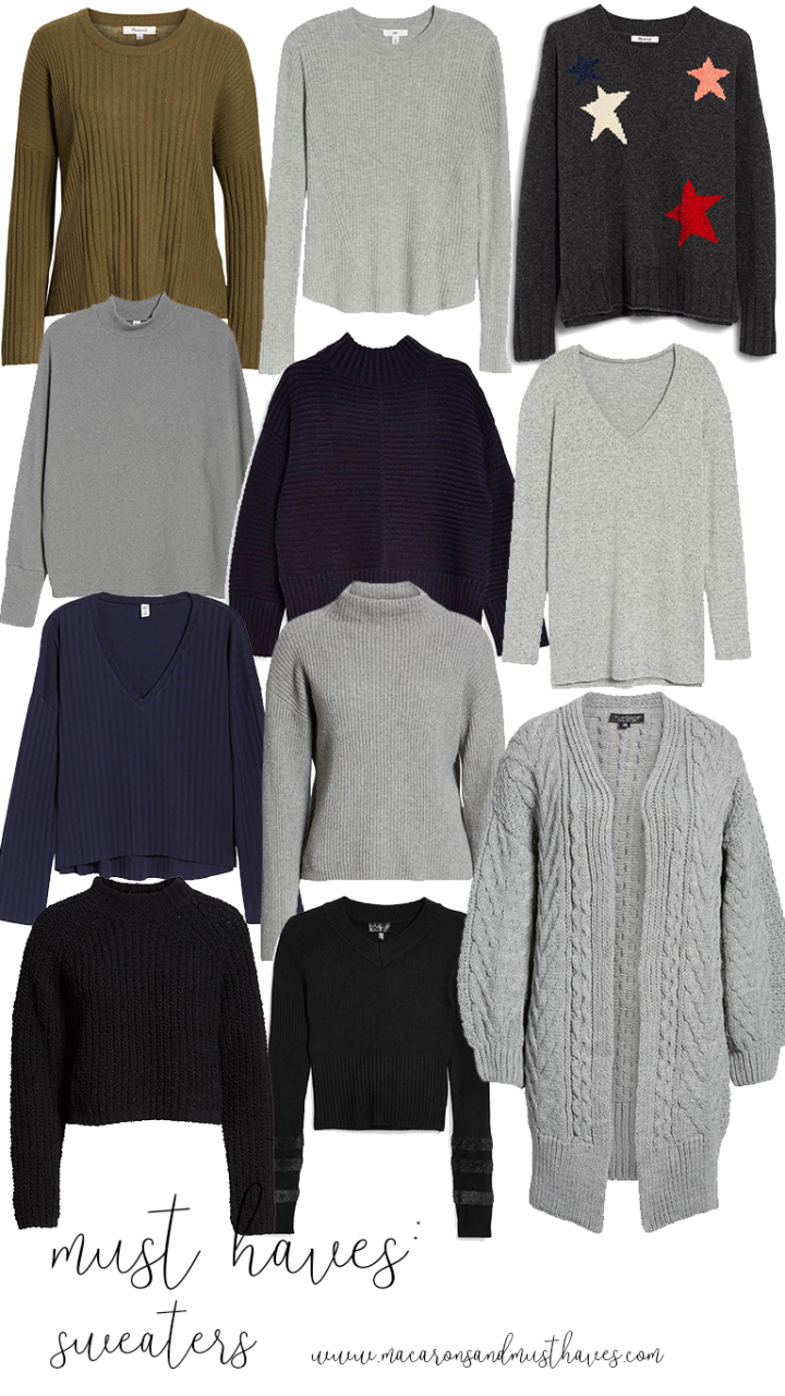 Must Haves: Sweaters